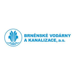 Brněnské vodárny a kanalizace logo